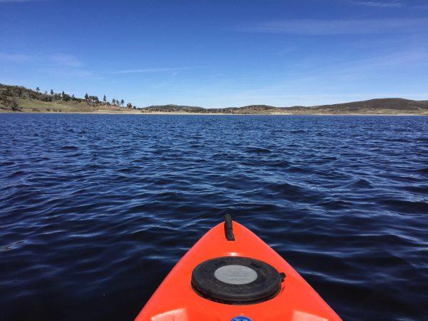 Cross-train with kayaking